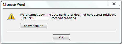 What you should do when word document denies to open however this behaviour can also be exhibited by ms word when you are trying to open it in an older version if this is not the case fandeluxe Image collections