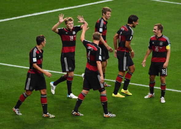 Germany's 7 – 1