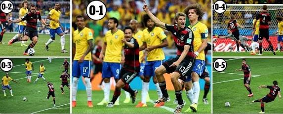 Germany vs Brazil Highlights