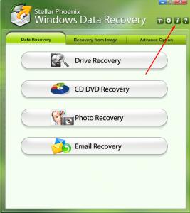 Registering Stellar Phoenix Data Recovery Tool : Avanquest
