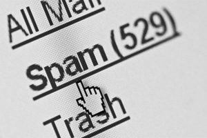 e-mails indesejados