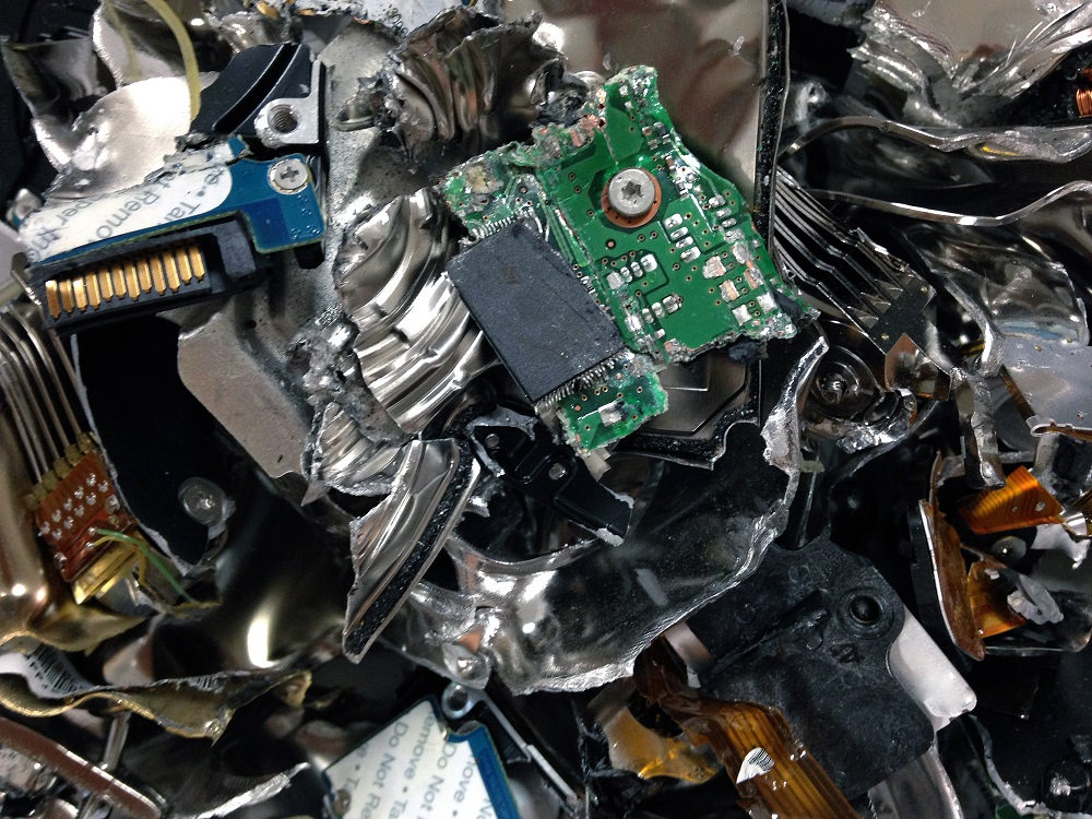 Physical Destruction of the Device