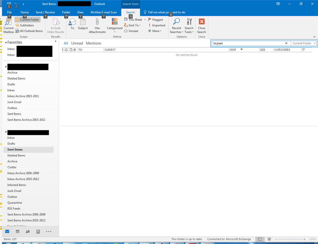 Solved]: How to Fix Outlook 2016 Search not Working