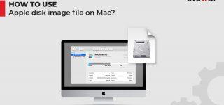 Use Apple disk image file on mac