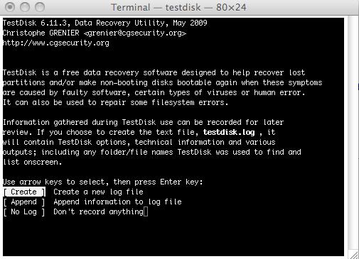 testdisk free Mac data recovery alternative