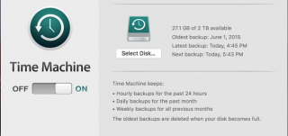Recover data from Time Machine