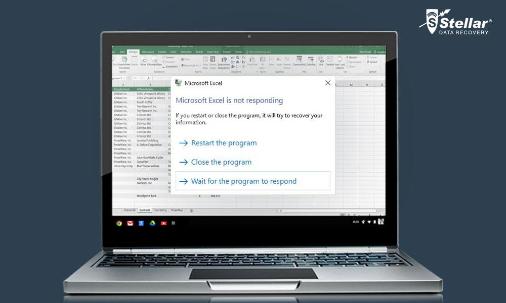 How to fix Microsoft Excel 2016 is not responding error