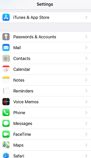 restore Notes from e-mail on iPhone