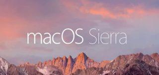 MacOS Sierra Upgrade