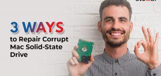 3 Ways to Repair Corrupt Mac Solid State Drive