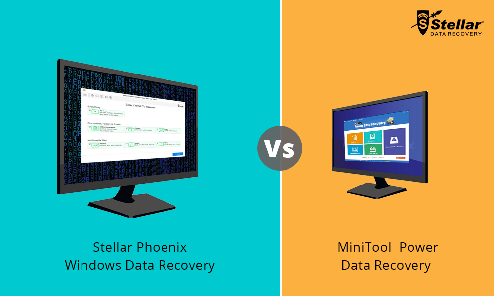 Stellar Data Recovery Software is better than Minitool