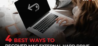 Recover deleted files from Mac external drive