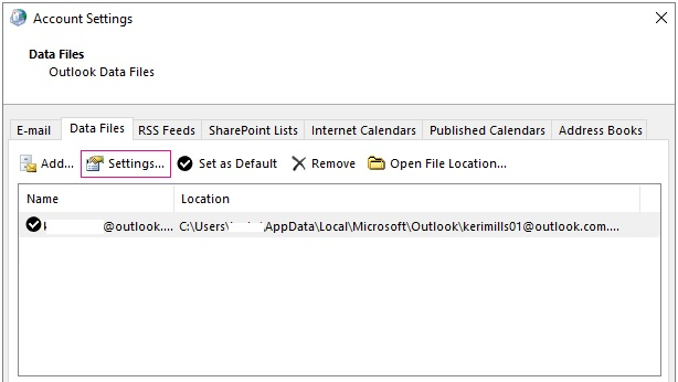 How to Change the Location of Outlook OST file?