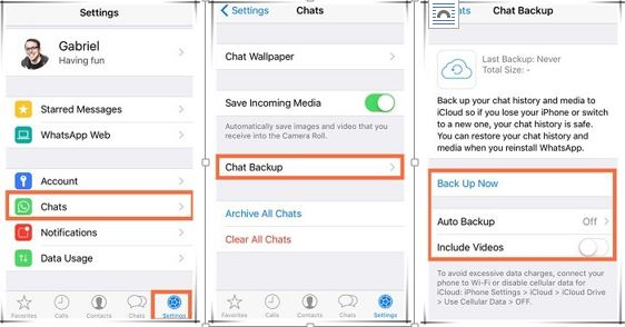How to Recover Whatspp Chat History from iPhone - Stellar