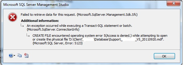 How to Get Rid of SQL Server Database Access Denied Error