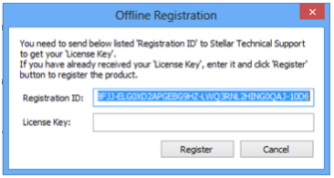 Serial number stellar ost to pst converter manager
