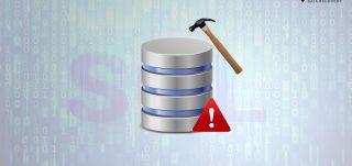 Repair corrupt SQL database