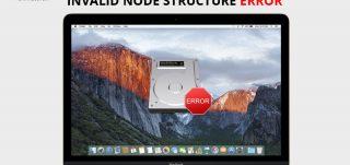 Invalid-Node-Structure-Error