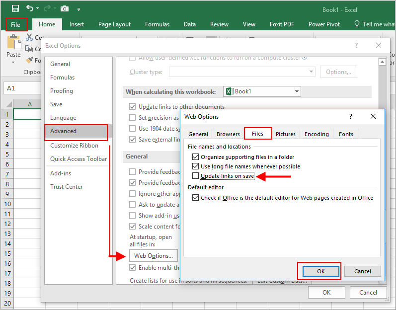 Easy Steps to Make Excel Hyperlinks Working