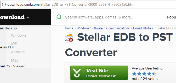 Best Rated EDB to PST Converter