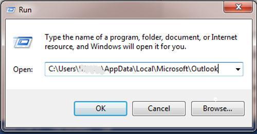 delete ost file