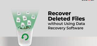 Recover Deleted Files without using data Recovery Software
