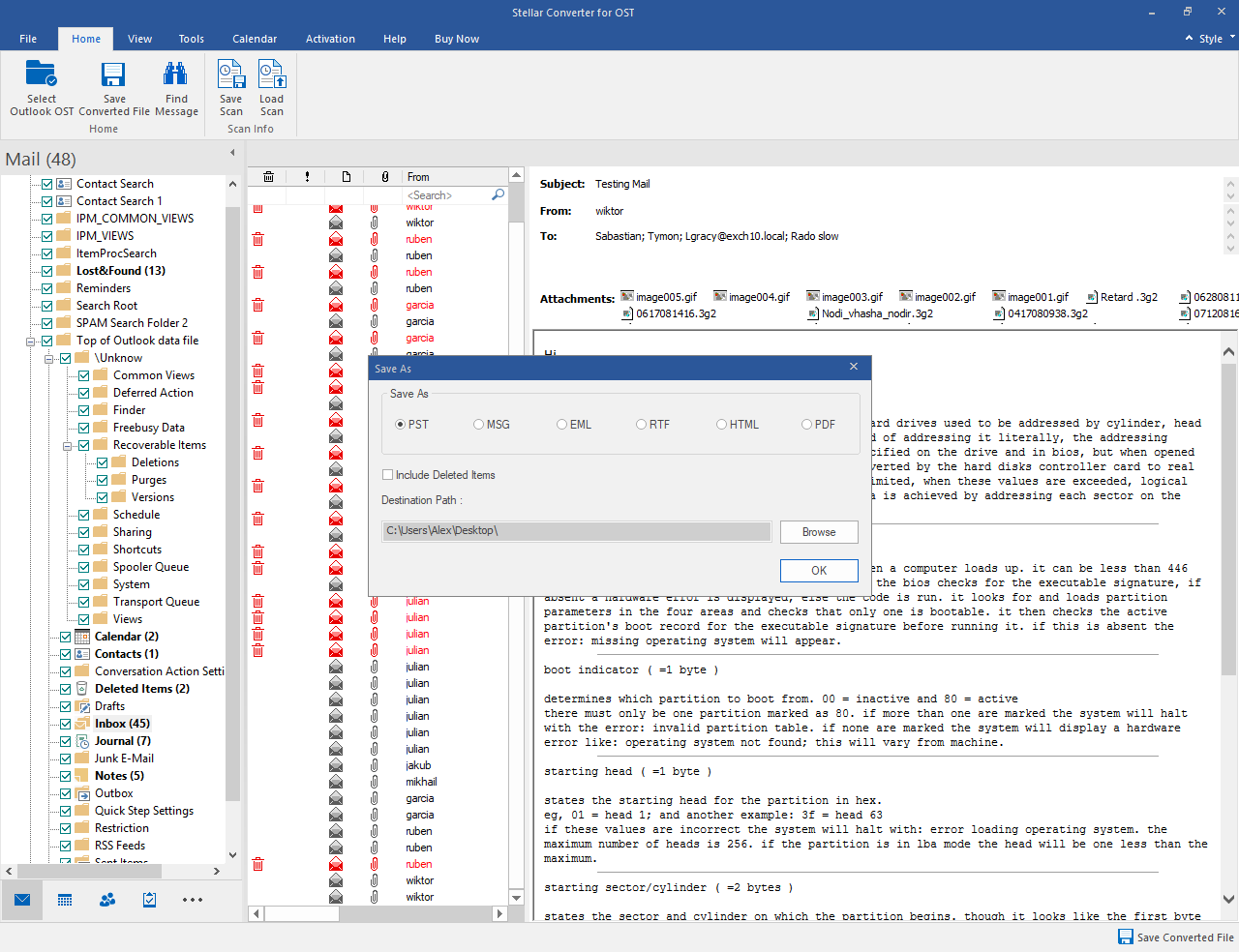 free ost to pst converter in outlook 2016