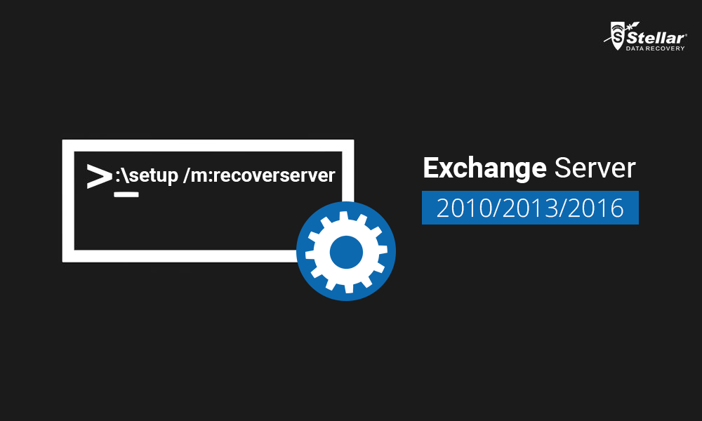 Steps to Setup /m recoverserver switch in Exchange Server