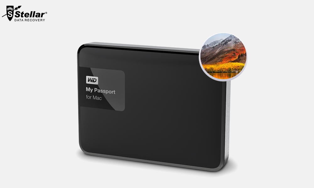Recover WD External Hard Drive Data on macOS Mojave
