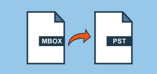 import mbox file into PST