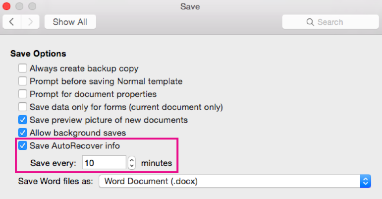 How to Recover Saved and Unsaved Office Files for Mac