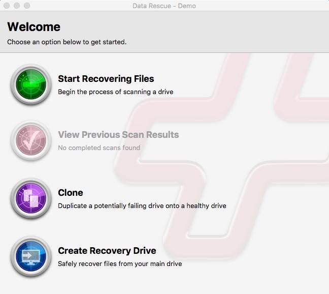 Data Rescue for Mac