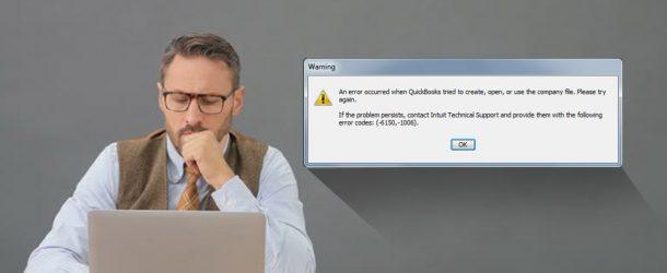 quickbooks error 6150