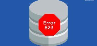 SQL Server Error 823