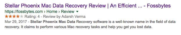 Stellar Mac Data Recovery - Fossbytes