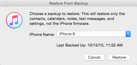 cannot restore backup iphone how to recover lost or deleted contact on iphone 13734