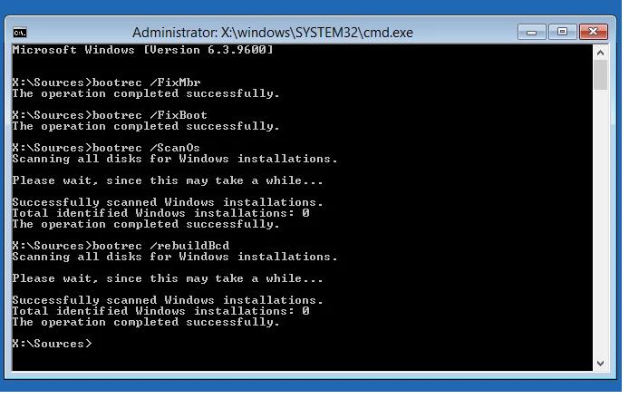 ErrorError Loading Computer System