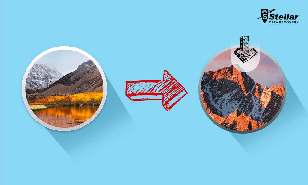 How to recover data lost after downgrading macOS High Sierra?