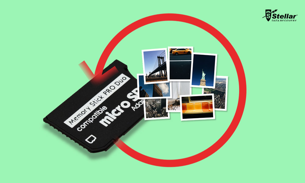 recover photos lost from memory stick pro duo