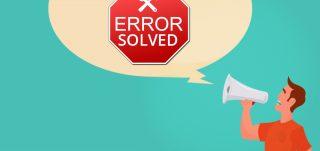 access unrecognized database error