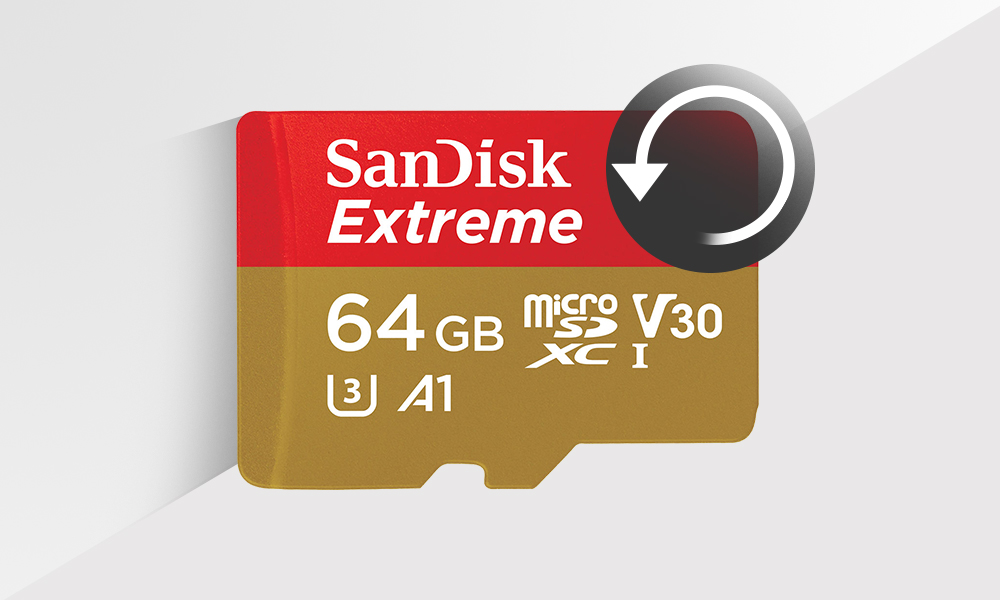 Recover Photos, Videos - SanDisk Extreme SD Card Recovery