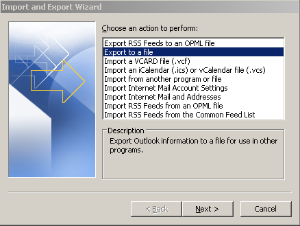 export Exchange 2010 Public folders to pst