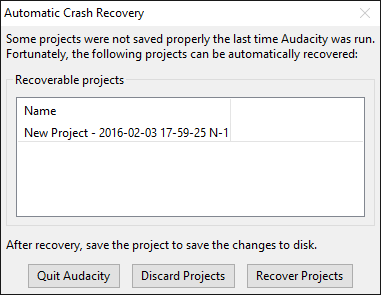 Approach 1: Use audio file recovery software that supports file formats of Audacity Used in Situation: Your audacity files were saved in the computer drive, memory card, USB drive or hard drive. You may lose the audio files due to accident deletion, formatting, virus infection, system crash, Audacity crash, or corruption in the drive etc. How to use: The do-it-yourself Stellar Photo Recovery supports Audacity audio file formats. The Stellar software approach is the easiest and the assured way to get back lost Audacity recordings. It supports the recovery of audio files of WAV, AIFF, MP3, WMA, AAC, AMR and other file formats from hard drive, memory cards, SD cards, and USB flash drives. The software is completely safe to download and is trusted by millions of users around the world. Steps to recover lost/deleted Audacity recordings 1. Download and Run Stellar Photo Recovery on your PC 2. Connect the storage media with PC 3. On the home screen of the software click on Recover Photo, Audio, & Files. 4. Select the drive letter. Check in Scan for Audio box. Click on Scan Now. 5. The found audio files are listed. Select the audio files that you want to recover. 6. Click Recover and save at your desired location Watch the video to recover lost Audacity recordings using Stellar Photo Recovery Approach 2: Reinstall the driver Used in Situation: If the system does not recognize your memory card or USB drive containing the .au files. How to use: To reinstall the driver on your system follow the below steps: • Go to My Computer and right click on it • Follow Manage srcset=