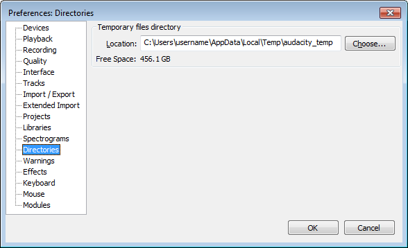 How to Recover Lost Audacity Audio Recordings