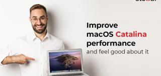 Improve macOS Catalina Performance