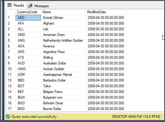 recover Deleted Records in SQL Server