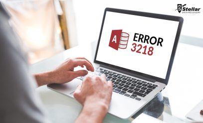 Access database error 3218