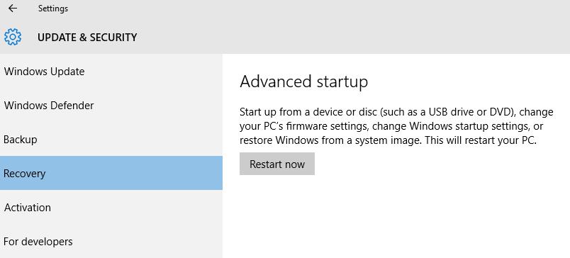 Restart Windows 10 in Safe Mode?