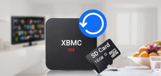 How to Recover saved data from Kodi XBMC sd card