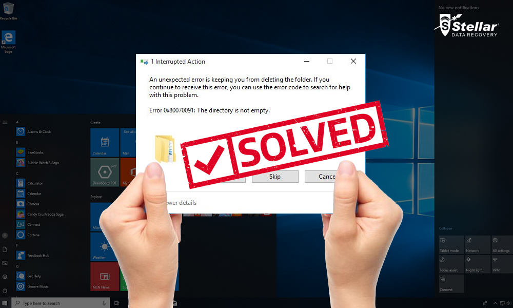 SOLVED] Windows 10 Error: \